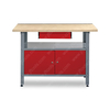 Shop Steel 2 Doors Garage Workbench for Sale