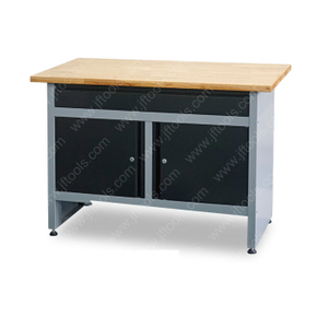 Outdoor Light Metal Workbench with Drawer