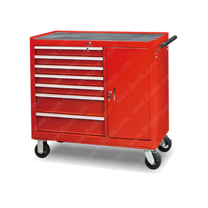 7 Drawer And 1 Door Steel Roller Tool Box Cabinet