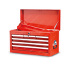 Red 6 Drawer Top Best Tool Storage Chest
