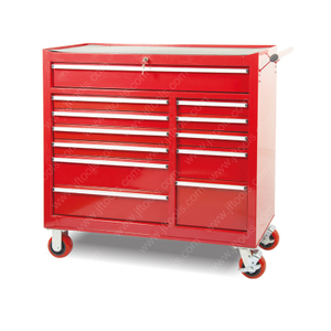 Mobile Roller Locker 12 Drawer Tool Cabinet Chest