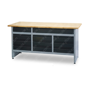 Movable Heavy Duty Garage Automotive Workbench