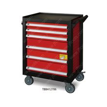 Metal 6 Drawer Rolling Mechanics Tool Cabinet