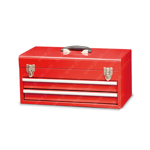 Garden Metal Small Rolling Tool Box with Drawer